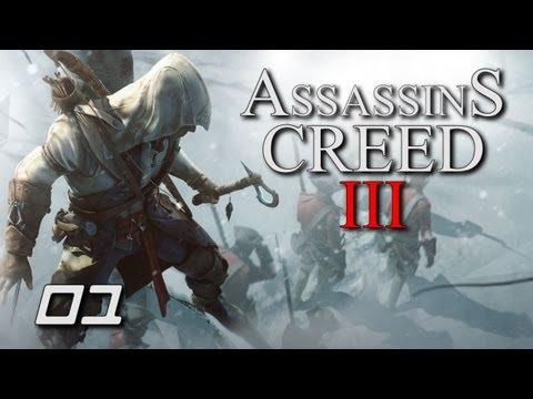 Assassins Creed III - (1#) - Podróż do nowego świata [Lets Play]