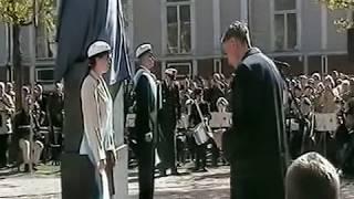 Mauno Koivisto-Presidentti Risto Rytin muistomerkin paljastus