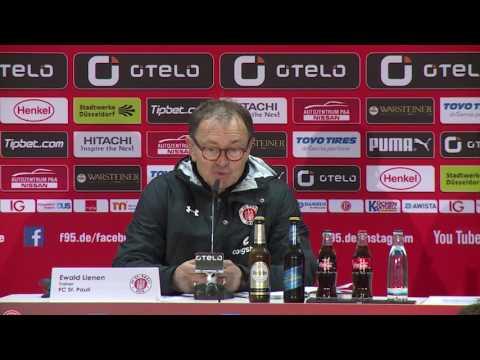 Pressekonferenz Fortuna Düsseldorf gegen St. Pauli am 21.04.17