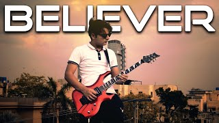 Download song Believer - Imagine Dragons - Electric Guitar Cover By Rafay Zubair