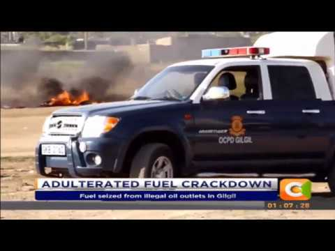 Police seize over 300 litres of adulterated fuel