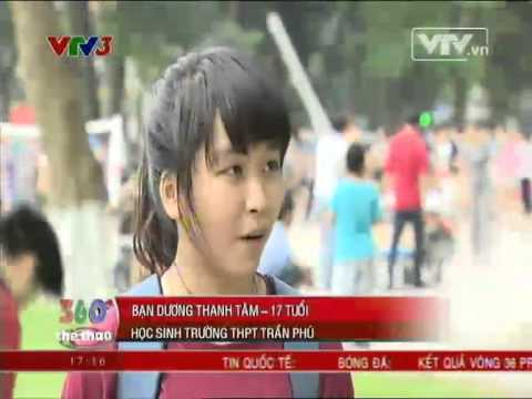 Freeline Skate Hanoi Team on VTV3 HD