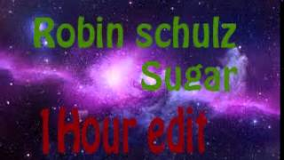 Robin Schulz - Sugar(feat. Francesco Yates)(1 Hour) Lyrics in Description