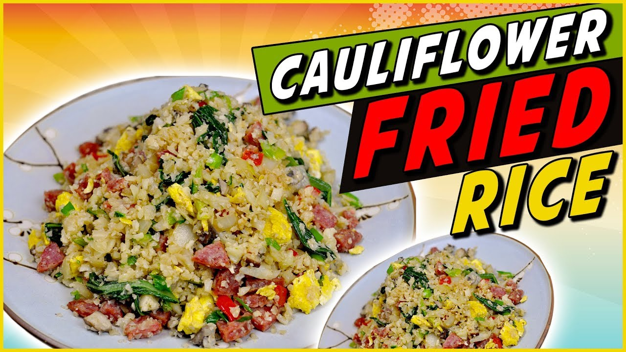 Mock cauliflower fried rice recipe youtube mock cauliflower fried rice recipe ccuart Images