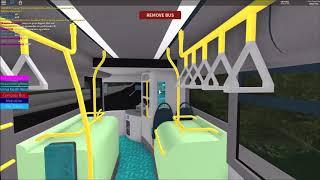ROBLOX Canterbury V4 BETA / Route 17X / Arriva Connecting Scania Omnicity