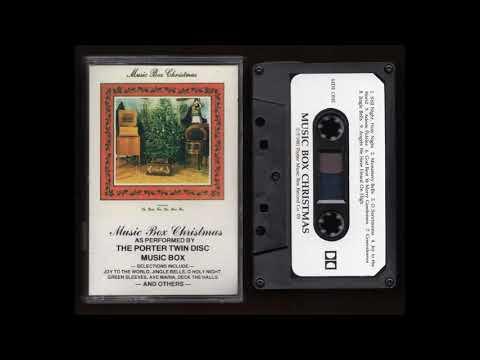 Music Box Christmas - The Porter Twin Disc Music Box - 1984 -  Cassette Tape Rip Full Album