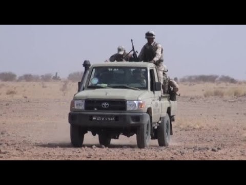 Mauritanian, Spanish & Canadian Special Operations Troops Mobility Training in Niger