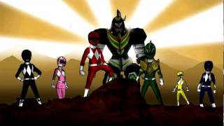 power rangers morphing animation