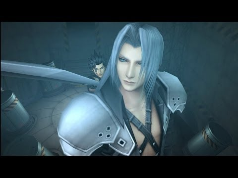 Sephiroth and Cloud showdown - Final Fantasy VII Crisis Core (PPSSPP PC Emulator) HD