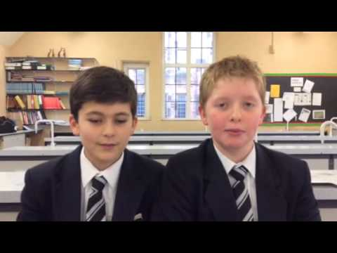 Elements Song by Bolton School pupils