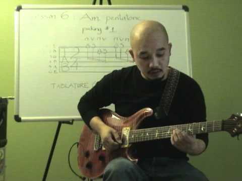 Tự học guitar solo bài 6 ( Am pentatonic: repeat)