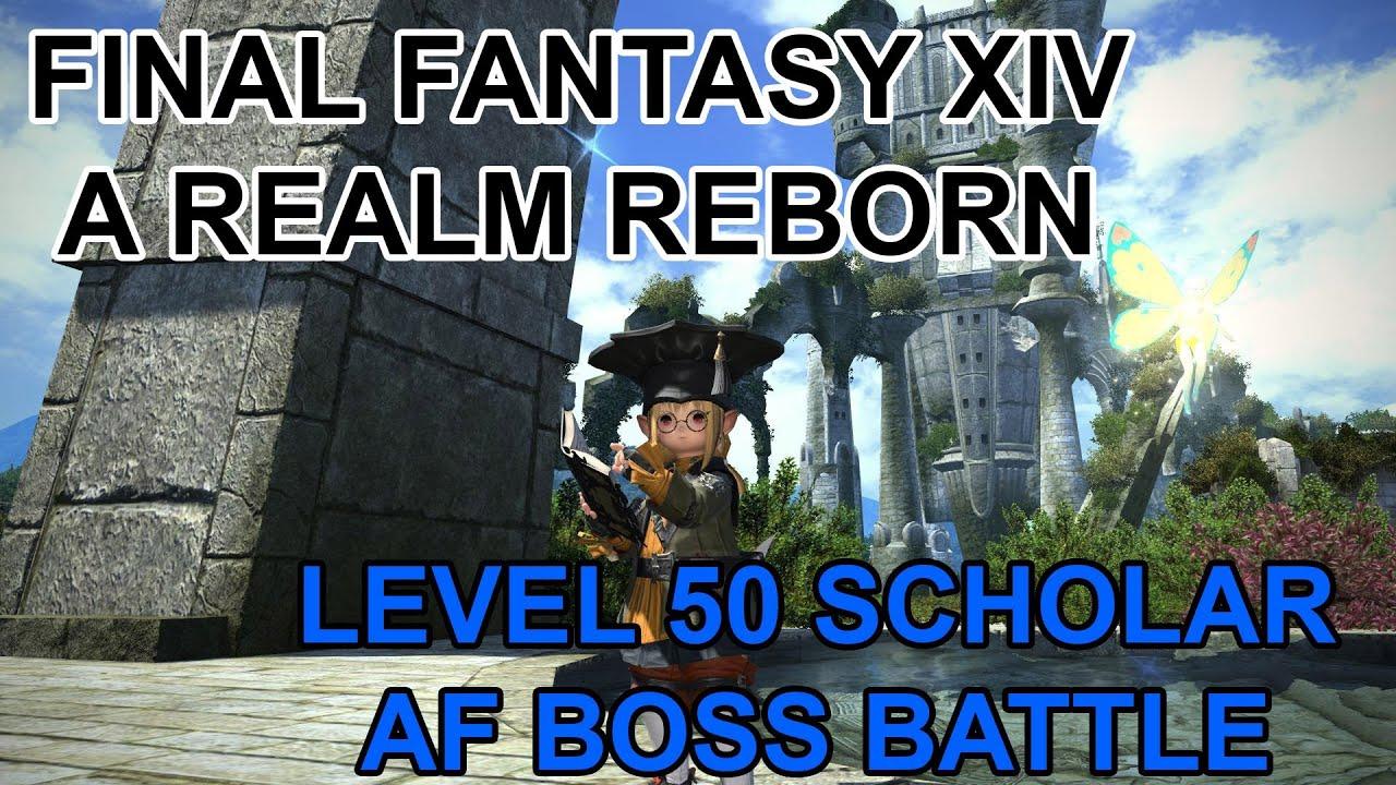Final Fantasy XIV A Realm Reborn Tonberry Scholar Level