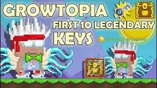 I GOT 10 Legendary Clash Keys = LEGENDARY ITEM!! (GLITCH) | GrowTopia