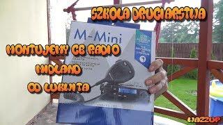Szkoła Druciarstwa Montujemy w BMW e39 CB Radio Midland od lukwita Wazzup :)