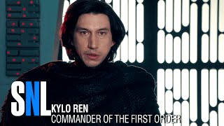 Kylo Ren (Adam Driver) goes undercover as Matt, a radar technician,...