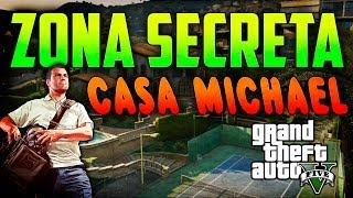 GTA V Online - Zona secreta Casa de Michael - GTA 5 online