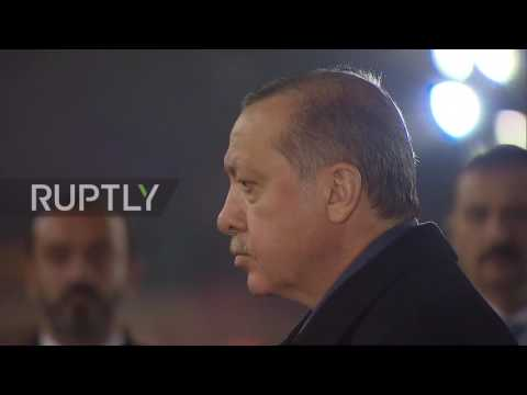 Russia: Erdogan honours fallen WWII soldiers at memorial in Moscow