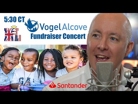Vogel Alcove Fundraiser concert with World Piano Man - Martyn Lucas