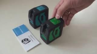 Обзор лазерного уровня INSTRUMAX ELEMENT 2D GREEN