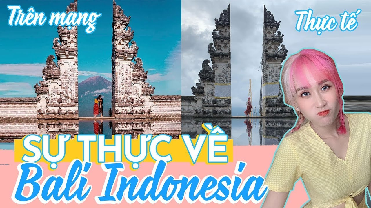 (Eng) SỰ THẬT VỀ DU LỊCH BALI INDONESIA | MY FIRST TIME IN BALI | HƯƠNG WITCH