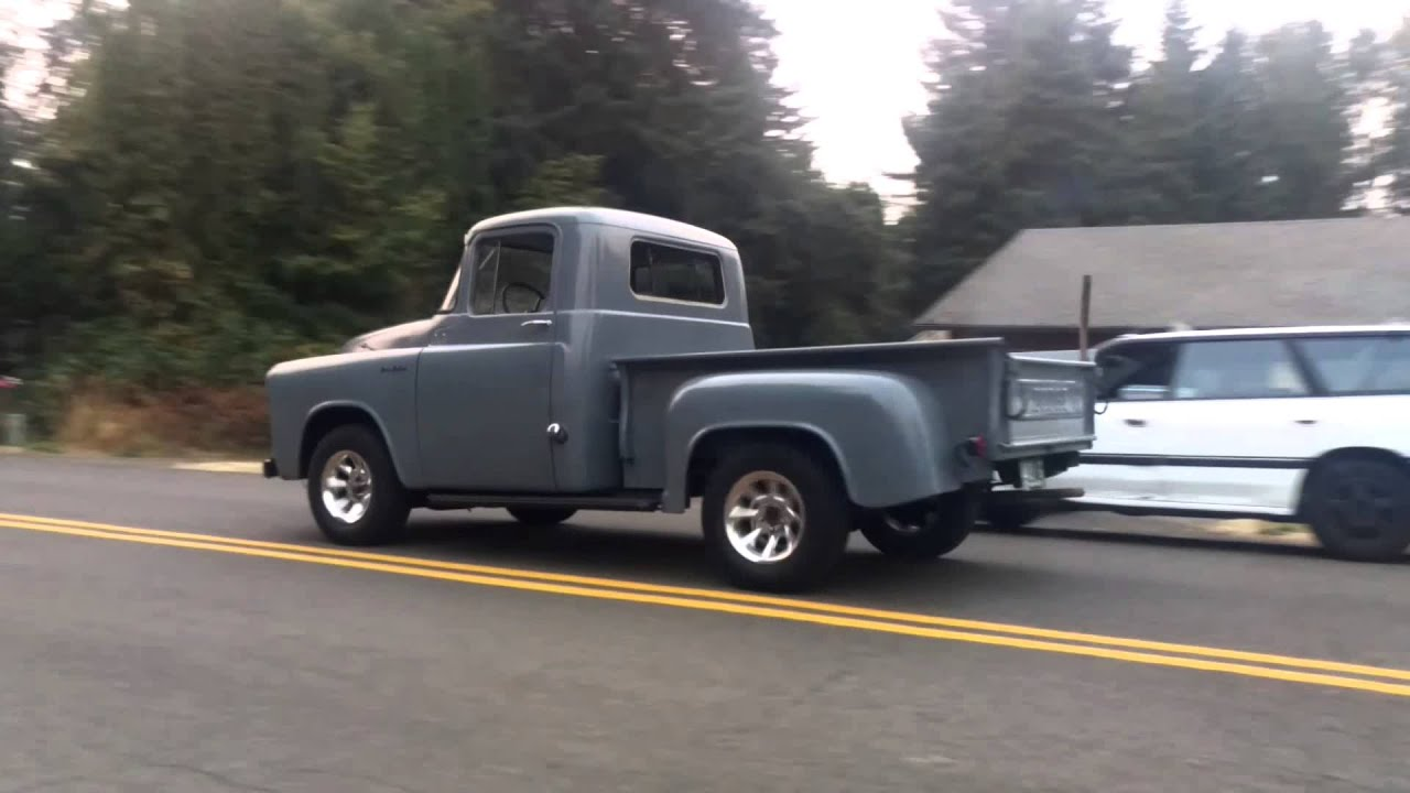 First voyage 1956 dodge truck - YouTube