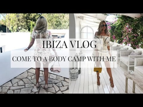 IBIZA VLOG   BODY CAMP WITH HOUSE OF FRASER   IAM CHOUQUETTE