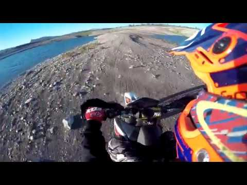 KTM  SM LAKE OFFROADING