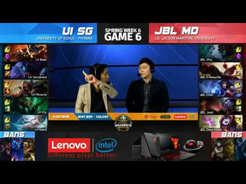 LCL 2017 Spring Term Week 6 Day 1 - UI vs JBL