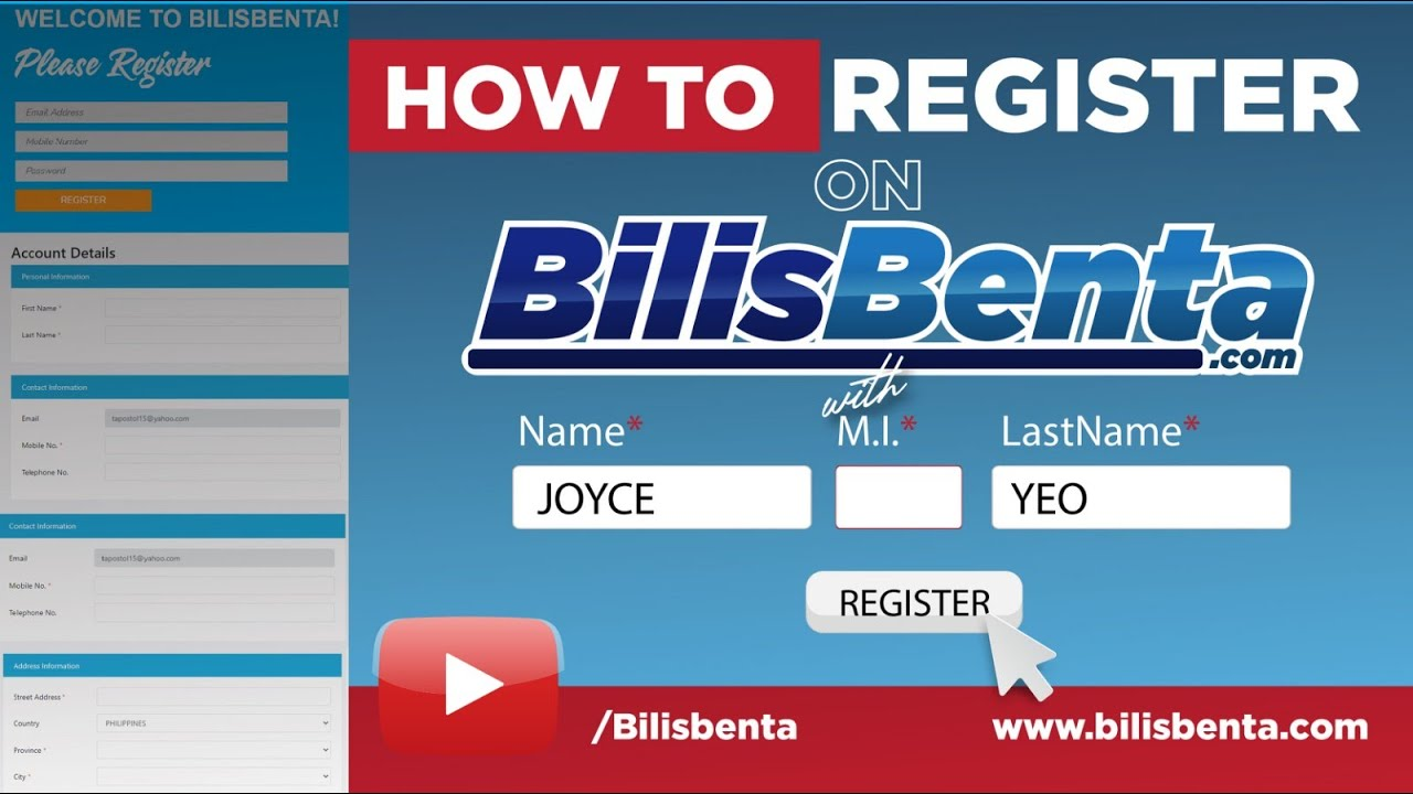 How to Register on BilisBenta - Lazada Dropshipping in the Philippines