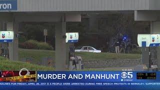 Standoff Underway Between East Bay Murder Suspect, Police