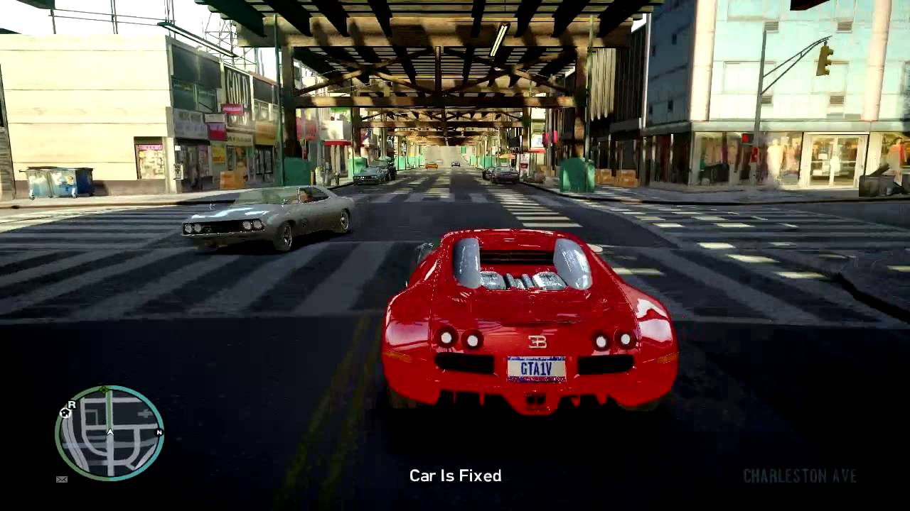 bugatti veyron eb 16 4 supercar maximum speed test on huge bridge gta iv mo. Black Bedroom Furniture Sets. Home Design Ideas