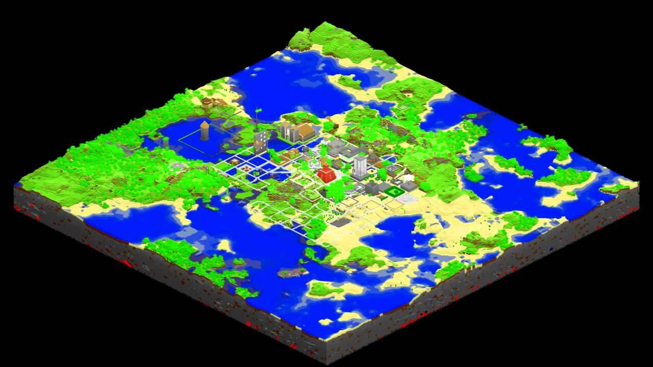 New Pork City development (Minecraft | MCMap)