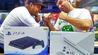 XBOX ONE É MELHOR QUE O PS4? QUAL VIDEO GAME COMPRAR? - NOVA ERA GAMES SANTA IFIGÊNIA SP