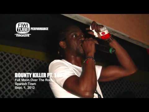Bounty Killer Live in Spanish Town Ja  part 1 of 3 Sept 2012