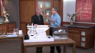 Antimicrobial Bristleless Toilet Bowl Cleaner Brush with Dan Hughes