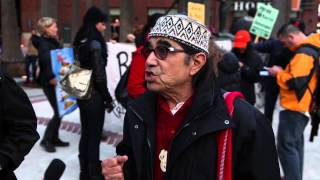 American Indian Movement West Protest at AT&T Park