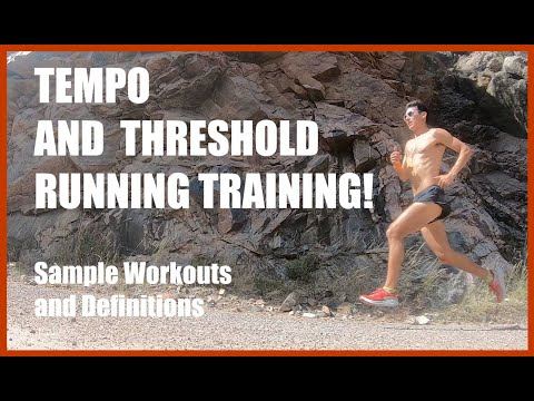 Tempo, Steady State, Lactate Threshold or Zone 3?! Training Tips Workouts Coach Sage Canaday Running