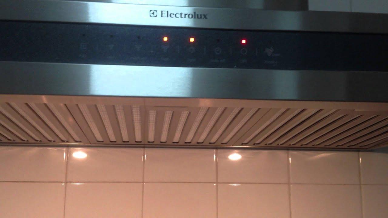 electrolux cooker hood 9563x youtube. Black Bedroom Furniture Sets. Home Design Ideas