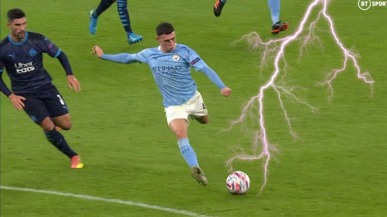 Phil Foden - Amazing Skills assists & Goals 2021 - YouTube
