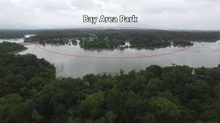Harvey Flooding at Armand Bayou - August 27, 2017
