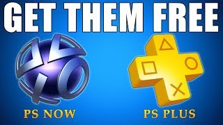 How To Get 𝗣𝗦 𝗣𝗟𝗨𝗦 for 𝗙𝗥𝗘𝗘 & 𝗣𝗦 𝗡𝗢𝗪 for 𝗙𝗥𝗘𝗘 (100% LEGAL) Free PS4 Games