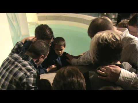 Braydens Baptism