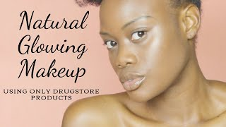 Natural Glowy Makeup Tutorial for Everyday | Drugstore Products