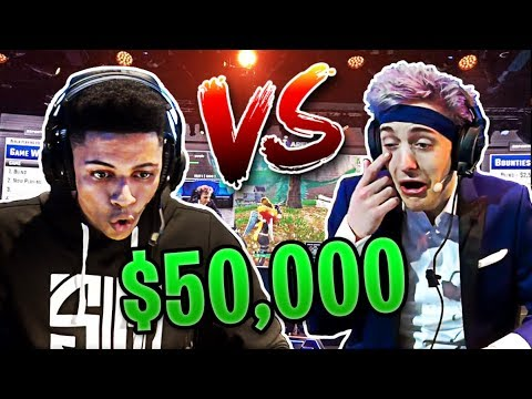 Ninja vs Myth at Las Vegas Fortnite Tournament! | Fortnite Best Moments #42