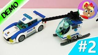 Lego 60141 Auto policyjne i helikopter | budowanie komisariatu cz. 2