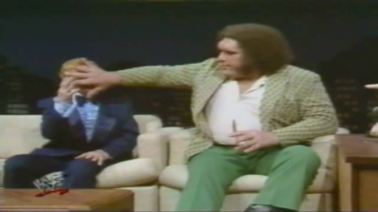 Andre The Giant S Big Appetite For Food And Thirst For Alcohol