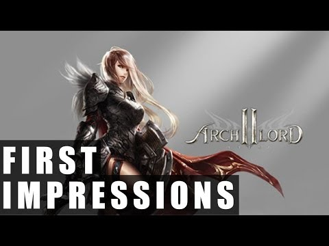 Archlord 2 Gameplay | First Impressions HD