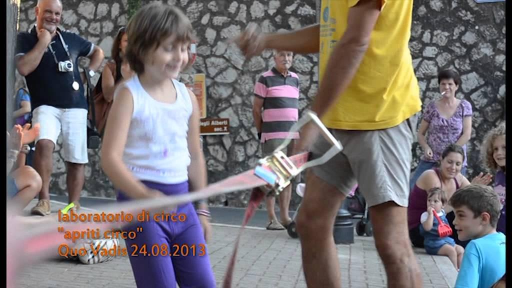 Molto Laboratorio di Circo per bambini a Quo Vadis - YouTube WD54