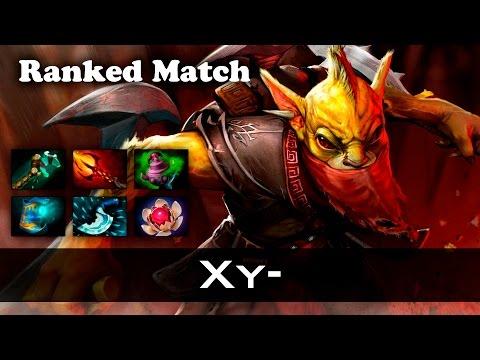 Xy Bounty Hunter Ranked Match Dota 2