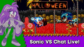 Sonic Mania VS Chat (Stream #5) - SONIC.EXE ADDED! !demon - super chatters, get priority commands!